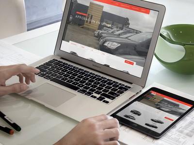 Automotora del Sur - Empresa de Diseño Web