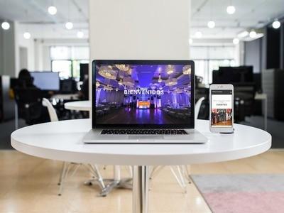 Congresos & Eventos - Empresa de Diseño Web