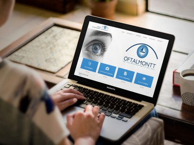 Oftalmontt - Empresa de Diseño Web