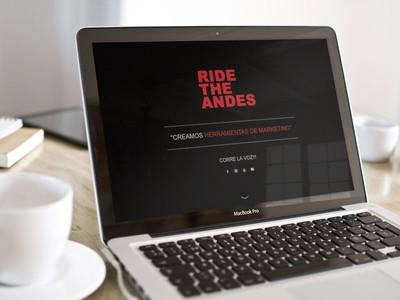 Ride the Andes - Empresa de Diseño Web